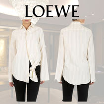 LOEWE Stripes Long Sleeves Shirts & Blouses