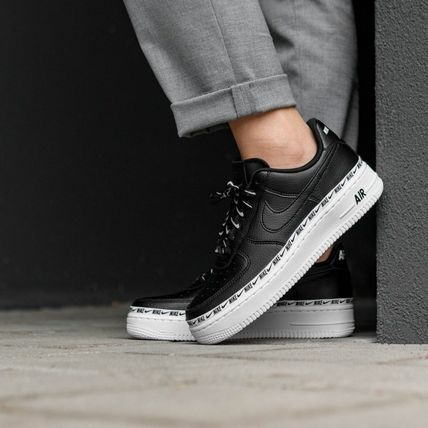 new style 90878 f9b97 ... Nike Low-Top Casual Style Street Style Plain Leather Low-Top Sneakers  ...