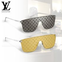 Louis Vuitton Blended Fabrics Tear Drop Sunglasses