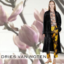 Dries Van Noten Flower Patterns Cotton Medium Elegant Style