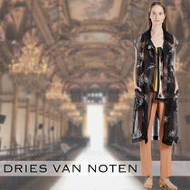 Dries Van Noten Plain Medium Elegant Style Cropped & Capris Pants