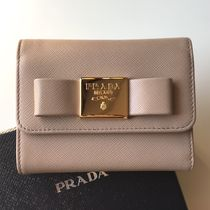 PRADA SAFFIANO LUX PRADA Folding Wallets