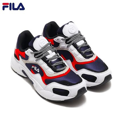 FILA 2019 SS Casual Style Unisex Low-Top Sneakers (F5068-0422)
