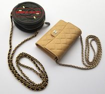 CHANEL MATELASSE Casual Style 3WAY Chain Leather Crossbody Shoulder Bags