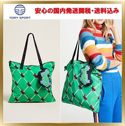 Argile Casual Style Street Style A4 Totes