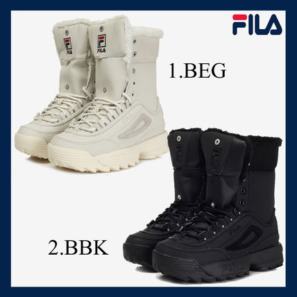 Casual Style Unisex Suede Boots Boots