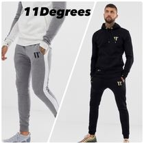 11 Degrees Street Style Bi-color Joggers & Sweatpants