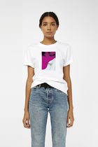 Prive Crew Neck Short Cotton Short Sleeves Cropped