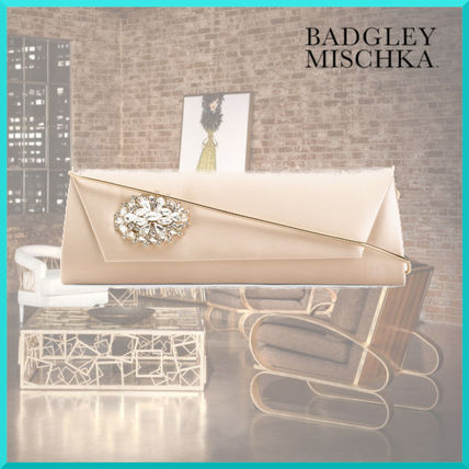 2WAY Plain Party Style Clutches