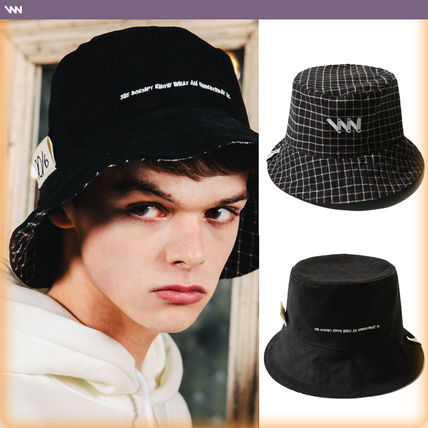 a48f81beaef69 ... WV PROJECT Wide-brimmed Hats Unisex Street Style Bucket Hats  Wide-brimmed Hats ...