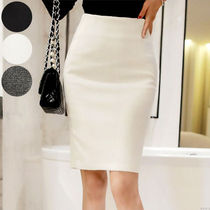 Medium Elegant Style Midi Skirts