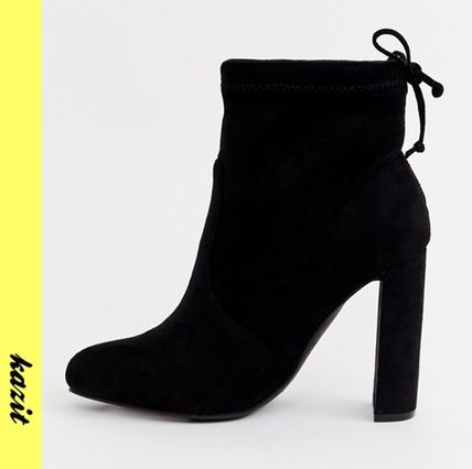 Casual Style Block Heels Ankle & Booties Boots