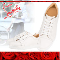 Christian Louboutin Plain Leather Low-Top Sneakers