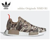 adidas NMD Camouflage Street Style Plain Sneakers