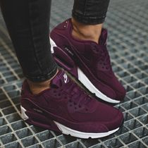 Nike AIR MAX 90 Casual Style Street Style Leather Low-Top Sneakers