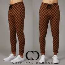 CRIMINAL DAMAGE Other Check Patterns Collaboration Joggers & Sweatpants