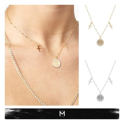 Casual Style Street Style Chain Silver Fine