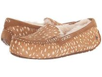 UGG Australia ANSLEY Moccasin Round Toe Casual Style Suede Flats