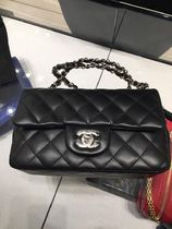 CHANEL MATELASSE Casual Style Lambskin 2WAY 3WAY Plain Leather Party Style
