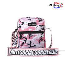ANTI SOCIAL SOCIAL CLUB Camouflage Unisex Street Style Hip Packs