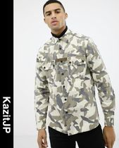 ASOS Camouflage Street Style Long Sleeves Shirts
