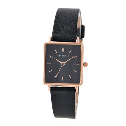Square Quartz Watches Stainless Analog Watches