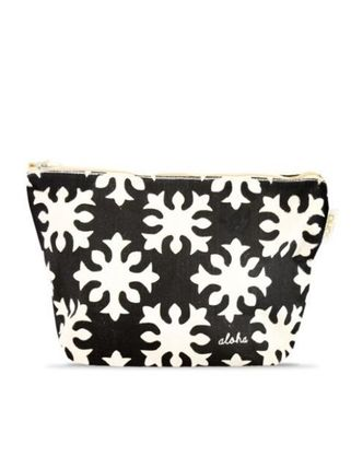 Tropical Patterns Canvas Pouches & Cosmetic Bags