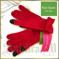 kate spade new york Plain Gloves Gloves