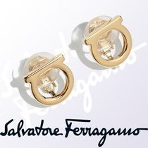 Salvatore Ferragamo Brass Earrings & Piercings