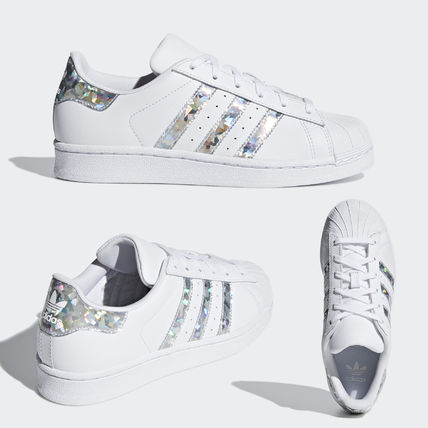 promo code 2f903 0cc36 adidas SUPERSTAR 2018-19AW Kids Girl Sneakers (F33889)