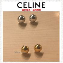 CELINE Silver Brass Earrings & Piercings
