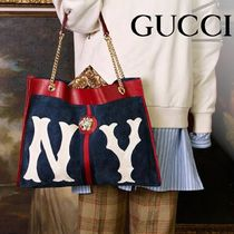 GUCCI Unisex 2WAY Chain Totes