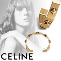CELINE Bangles Blended Fabrics Studded Party Style Accessories