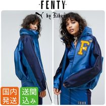 PUMA FENTY Casual Style Street Style Collaboration Plain