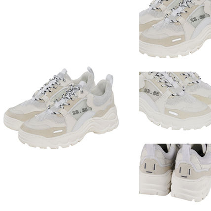 23.65 Sneakers Unisex Street Style Plain Leather Handmade Sneakers 15