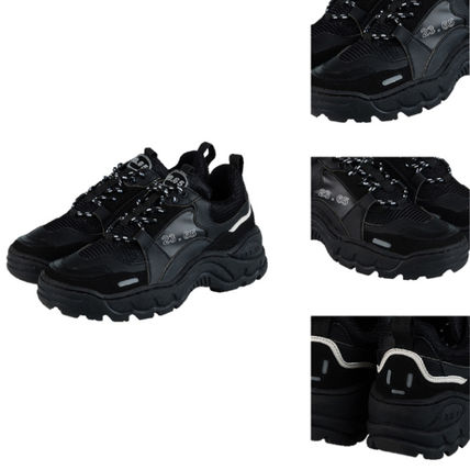23.65 Sneakers Unisex Street Style Plain Leather Handmade Sneakers 16