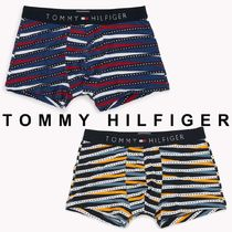 Tommy Hilfiger Stripes Unisex Street Style Cotton Trunks & Boxers