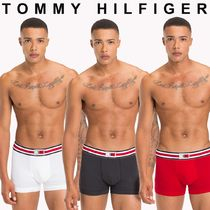 Tommy Hilfiger Unisex Street Style Collaboration Plain Trunks & Boxers