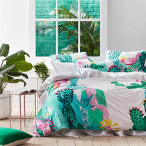 Adairs Flower Patterns Comforter Covers Ethnic Duvet Covers