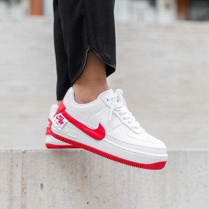 464bb201fa5 ... Nike Low-Top Casual Style Street Style Plain Leather Low-Top Sneakers  ...