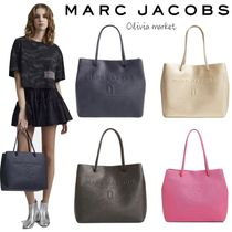 MARC JACOBS Casual Style A4 Plain Leather Totes