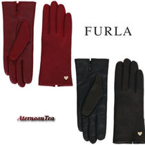 FURLA Leather Leather & Faux Leather Gloves