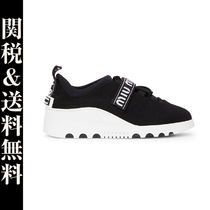 MiuMiu Home Party Ideas Low-Top Sneakers