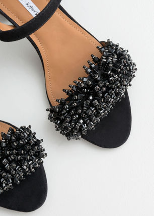 a5685c3d72dc   Other Stories 2019 SS Suede Plain Block Heels Heeled Sandals by ...