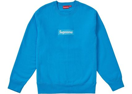 Supreme Sweatshirts Crew Neck Unisex Sweat Long Sleeves Plain Sweatshirts 4
