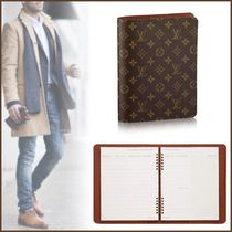 Louis Vuitton MONOGRAM Unisex Blended Fabrics Planner