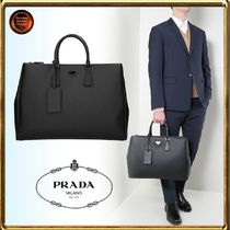 PRADA Saffiano 2WAY Plain Business & Briefcases