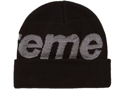 Supreme Knit Hats Unisex Street Style Knit Hats 3