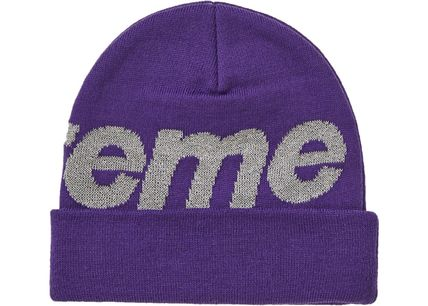 Supreme Knit Hats Unisex Street Style Knit Hats 11
