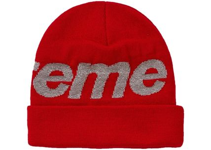 Supreme Knit Hats Unisex Street Style Knit Hats 13